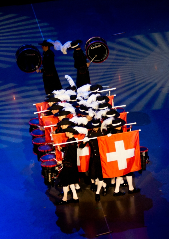Top Secret Drum Corps fra Sveits