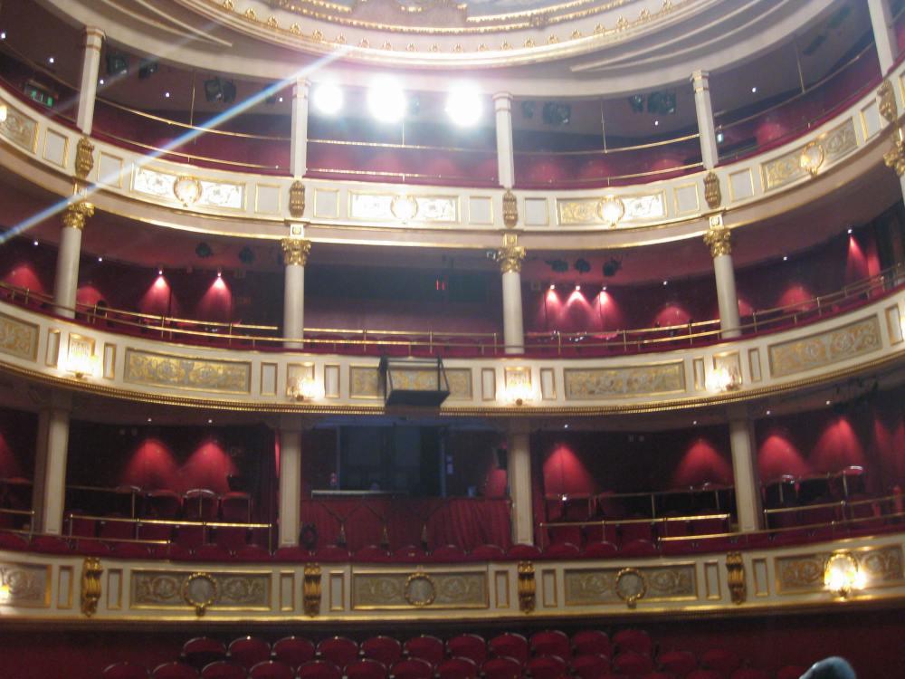 Den flotte konsertsalen i Drammens Teater