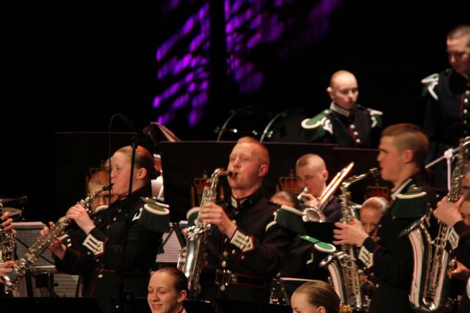 Saxofonrekka i aksjon