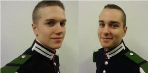 Visekorporal Ole Martin Synnes og Visekorporal Joachim Angler