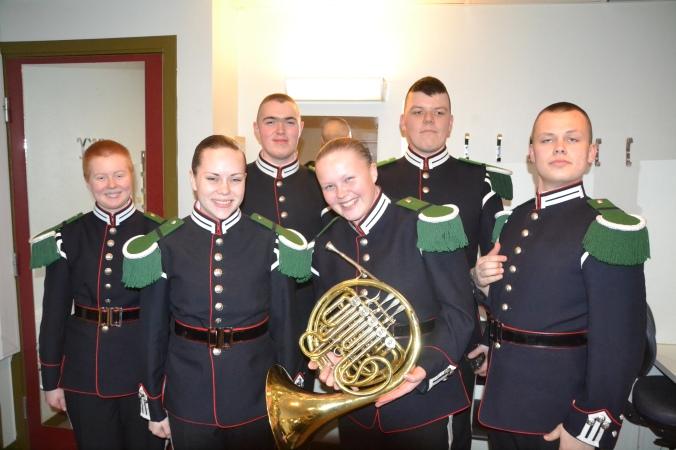 Walthorn og euphonium-folkene