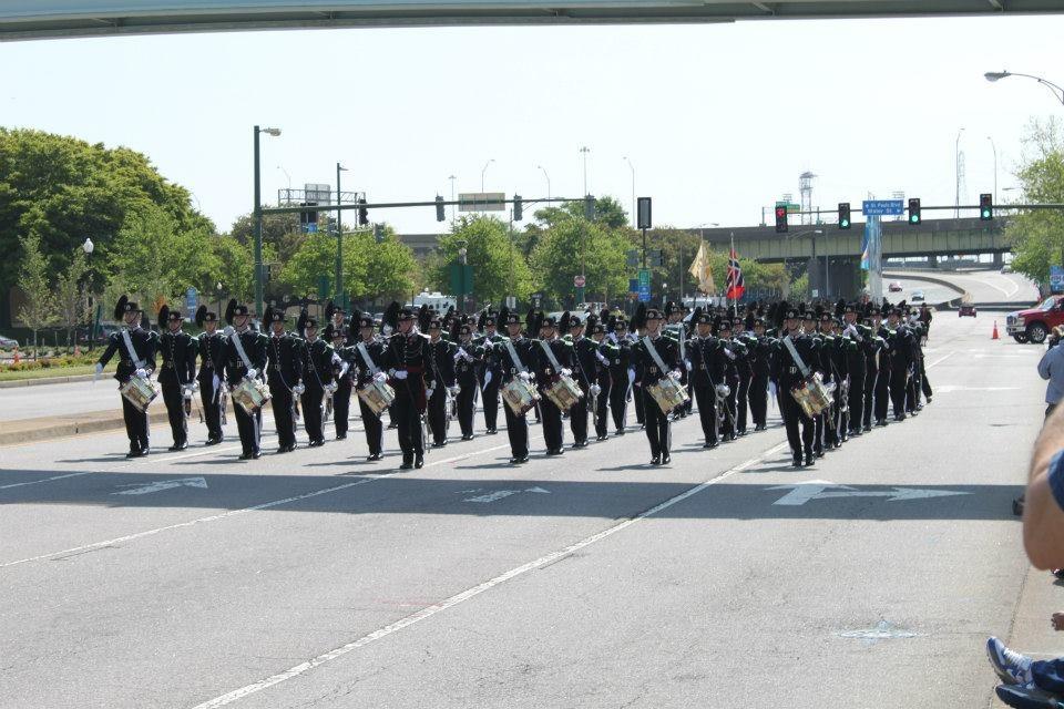 NATO-parade i Norfolks gater.
