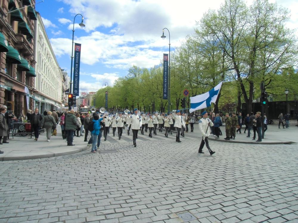 Finnlands deltagelse i paraden