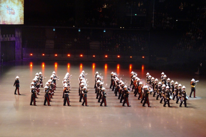 The Massed Bands of Her Majesy´s Royal Marines