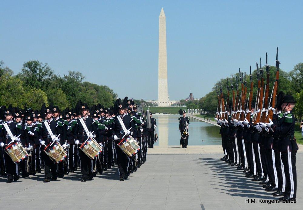 Lincoln Memorial oppvisning